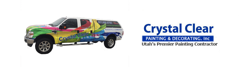 Painter in Salt Lake City Utah | Crystal Clear Painting Company